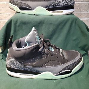 Nike Air Jordan Son of Mars Black Green Glow sz 13